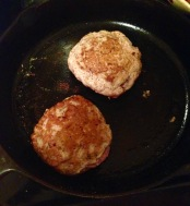 Cooking Stuffed Burger Patties